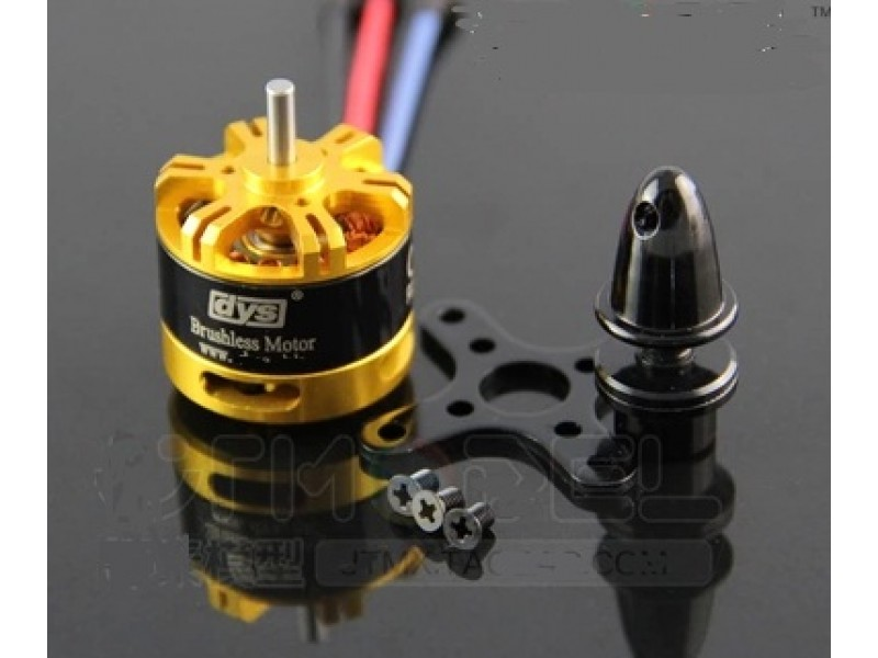 Dys be2208 2600kv long shaft brushless motor for mini for Motor vehicle inspection flemington nj