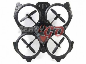 W608-1 2.4GHz/ 4CH/ 360° Eversion Mini UFO Quadcopter with 6-axia Gyro system
