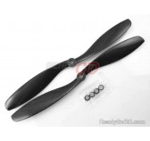 "8"" 8045 full Carbon Fiber propeller CW/CCW for Multicopter (DJI Compatible) 2 pairs"